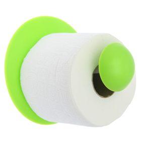 Держатель для туалетной бумаги Aqua, цвет салатовый Ош