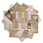 Набор бумаги для скрапбукинга RusticWedding, 12 листов, 30,5 х 30,5 см, 180 г/м