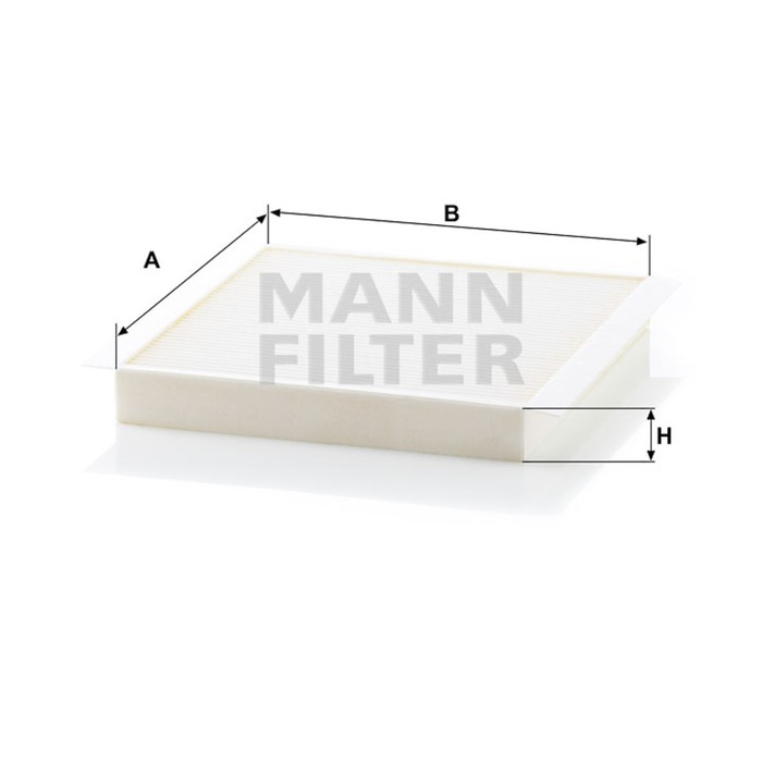 Фильтр салонный MANN-FILTER CU2356