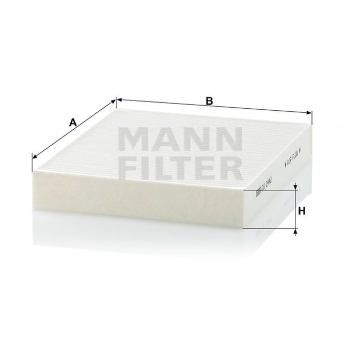 Фильтр салонный MANN-FILTER CU2442