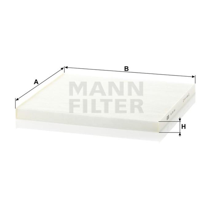 Фильтр салонный MANN-FILTER CU29001