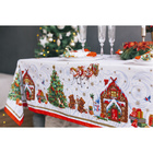 """Столовый набор """"Этель"""" Новогодняя сказка, скатерть 110х150 см, салфетки 40х40 см - 4 шт., хлопок 100%, 183 г/м2"""