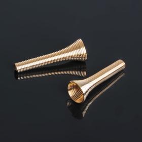 Пружинка-шапочка (набор 5шт) СМ-972-17, цвет золото