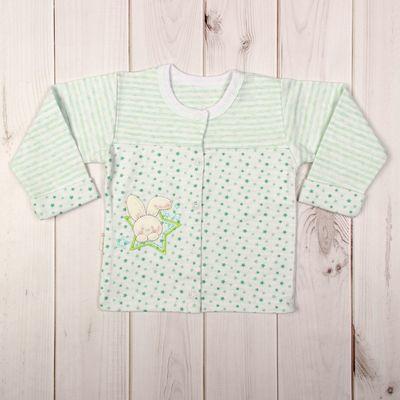 Кофточка детская, рост 86 см, цвет зелёный 856_М