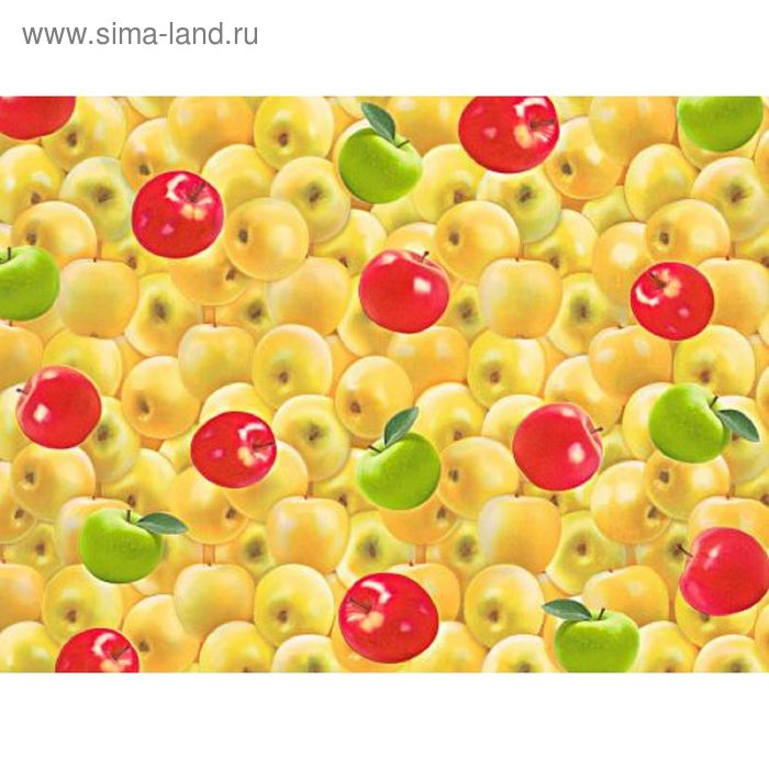 "Обои виниловые 5523 (05) ""Яблоки"", 0,53х10 м"