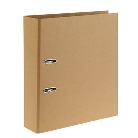 Папка-регистратор А4, 80мм DOLCE COSTO, крафт-картон, разборная