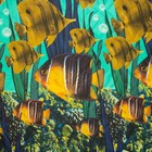 Покрывало Миранда, рисунок «Океан», размер 100х150 см, поликоттон