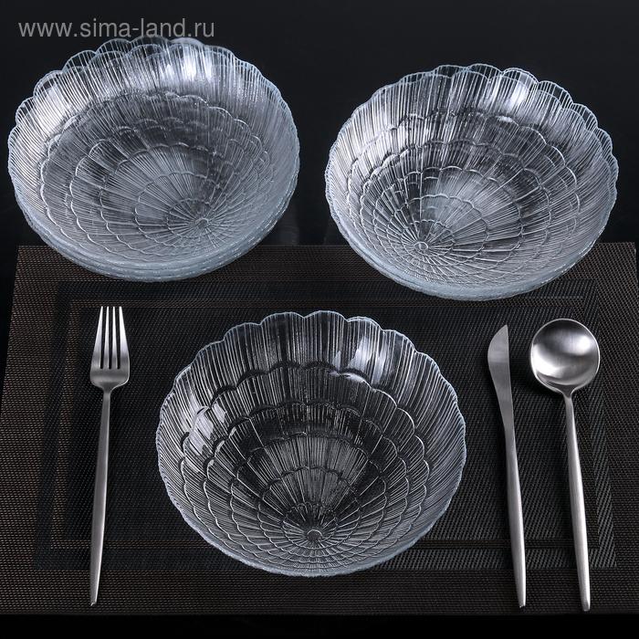 Набор тарелок 21 см Atlantis, 6 шт