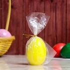 "Свеча-яйцо ""Жёлтое"""