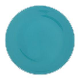 """Тарелка обеденная d=27 см """"Дымка"""", цвет голубой"""