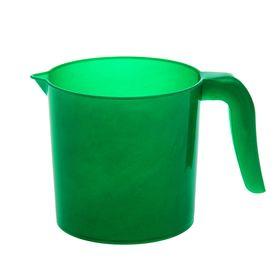 Ковш 1 л 'Изумруд', цвет зелёный Ош