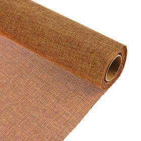 Джут 50 см х 4,5 м, коричневый