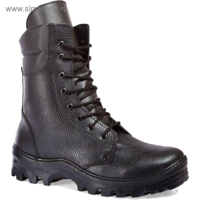 Ботинки рабочие зимние «Пилот», кожаные, с высоким берцем, шерстяной мех, модель 116, размер 41