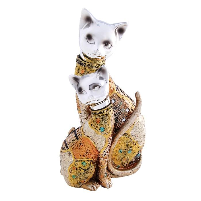 """Сувенир """"2 кошки мозаика"""""""