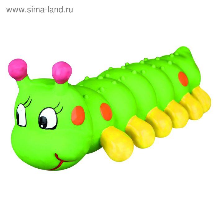 """Игрушка Trixie """"Гусеница"""", латекс, 26 см"""