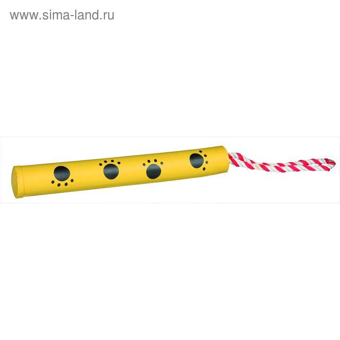 """Игрушка Trixie """"Бита на веревке"""" для собаки, 25 см/30 мм."""