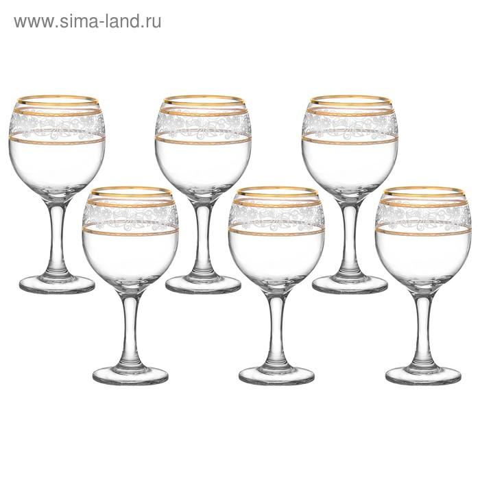 """Декостек Набор фужеров для вина 260 мл """"Люкс"""", 6 шт 1781335"""