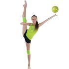 Наколенник гимнастический, размер S, цвет салатовый