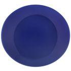 Блюдо круглое d=28 см, цвет синий