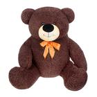 """Мягкая игрушка """"Медведь кудрявый"""", цвет тёмно-коричневый"""