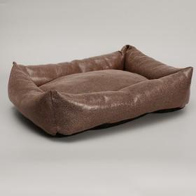 """Лежанка """"Кобра"""", 53 х 44 х 11 см, мебельная ткань"""