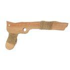 """Сувенир деревянный """"Пистолет большой"""", 26 см, массив бука"""