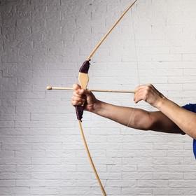Сувенир деревянный 'Лук со стрелами', 82 см Ош