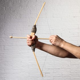 Сувенир деревянный 'Лук со стрелами', 55 см Ош