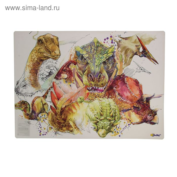"Накладка на стол дизайн 460*330 КН-3 ""Динозавры"""