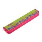 Пенал для кистей «Цветные котики», 340 х 70 мм, ламинированный картон, для девочки, ПКК 08-5