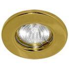 Светильник точечный Linvel под MR-16 неповорот. золото 9210/DL 10