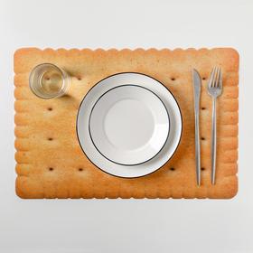 "Салфетка кухонная ""Крекер"" 42х27 см"