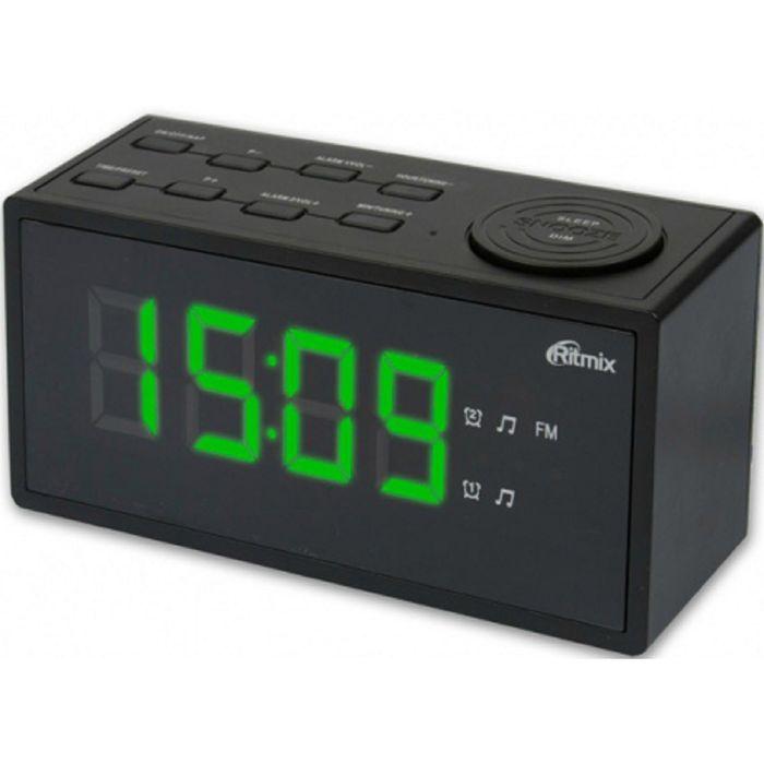 Радиобудильник Ritmix RRC-1212, черный