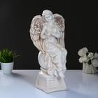"""Статуэтка """"Ангел девушка с птицей"""", состаренный 16 × 18 × 40 см"""