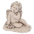 Статуэтка «Ангел на полянке» под старину, 17 × 26 × 27 см
