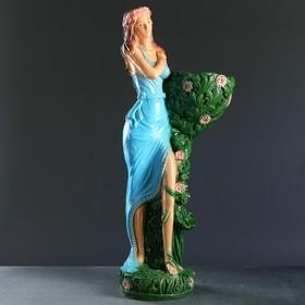 """Садовая фигура """"Лесная фея"""" цветная, 85см"""