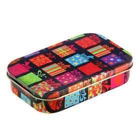 Подарочная коробка 'Подарки', 9.5 х 6 х 2 см Ош