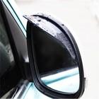 Козырьки на зеркала заднего вида универсальные TORSO, прозрачные, 2 шт.