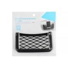Карман-сетка под телефон TORSO, на клейкой ленте, 22,3 х 8 см, чёрный