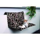Гамак Trixie для кошки 48х28х30см, на радиатор, жираф.