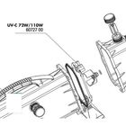 Крышка регулятора потока для УФ-стерилизаторов AquaCristal UV-C 72/110W, JBL UV-C 72/110W cover pane
