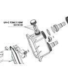 Крыльчатка для контроллера потока УФ-стерилизаторов AquaCristal UV-C 72/110W,JBL UV-C 72/110W impell