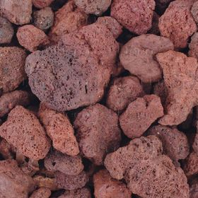 """Натуральный грунт для аквариумов """"Лавовая крошка"""",UDeco Canyon Lava, 15-40 мм, 2 л"""