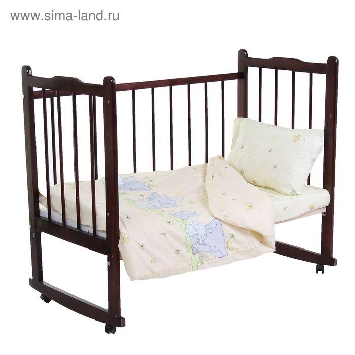 Детское постельное бельё Непоседа «Нежность», размер 112х147 см, 110х150 см, 40х60 см-1 шт., бязь 120 г/м²