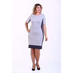 Платье женское, размер 48, цвет серый 359Д708