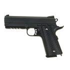 Пистолет пневматический пружинный Colt 1911PD Rail G.25