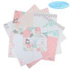 """Набор бумаги для скрапбукинга Me to you """"Самый лучший день"""", 12 листов, 30.5 x 30.5 см, 180 г/м²"""