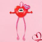 """Сердце с подвесными элементами """"Люблю тебя"""", 15,2 х 13 см"""