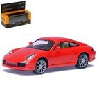 Модель металлическая Porsche 911 Carrera S, масштаб 1:35, цвета МИКС