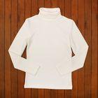 Водолазка для мальчика, рост 140-146 см (36), цвет молочный 957-ДКМ-04